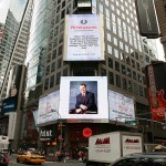 Cincom's 40th Anniversary Recognized in Times Square