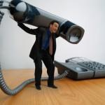 Burden of a telephone